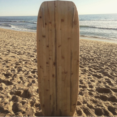 A surfable coffin.
