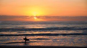 High tide Sunset session.